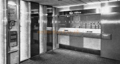 The Box Office at the Westminster Theatre in 1966 - From a Souvenir Book for the opening of the Westminster Theatre Arts Centre - Courtesy Richard Leigh.