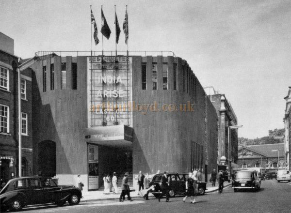 The Westminster Theatre in 1966 - From a Souvenir Book for the opening of the Westminster Theatre Arts Centre - Courtesy Richard Leigh