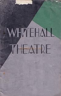 Programme for 'Afterwards' by Walter Hackett, which opened at the Whitehall Theatre in 1933 and ran for 208 performances.