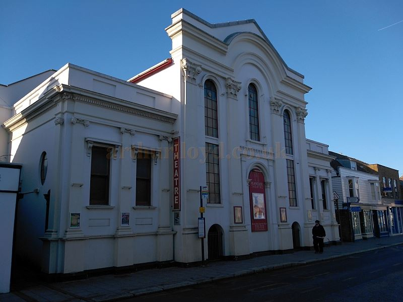 The Playhouse Theatre, Whitstable in December 2017 - Courtesy Philip Paine.