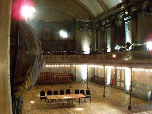 Wilton's Music Hall in August 2011. - Photo M.L.