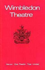 A programme for the Wimbledon Theatre's 1973 Marlene Dietrich performances.