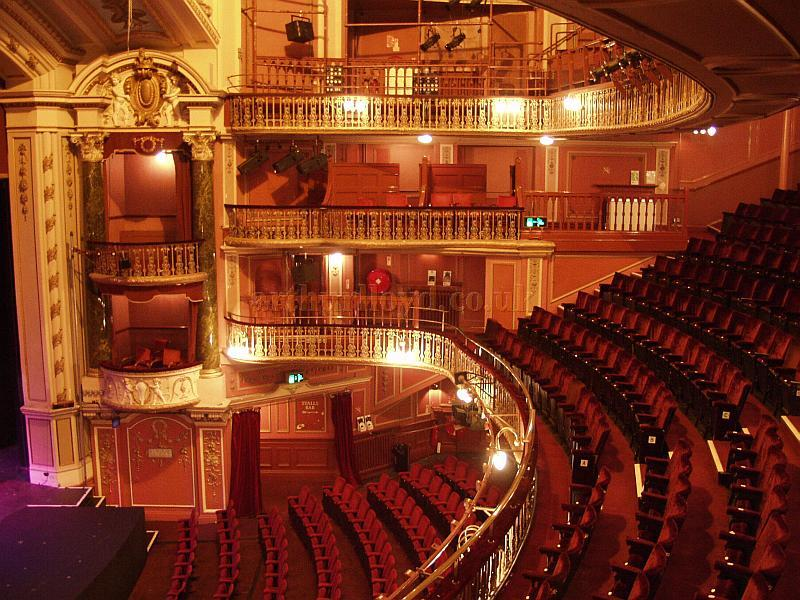 The recently refurbished auditorium of the New Wimbledon Theatre - Courtesy the New Wimbledon Theatre.
