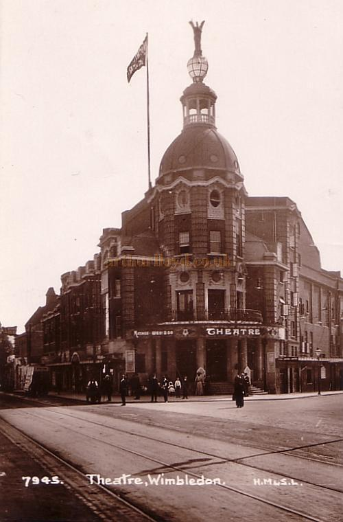 The Wimbledon Theatre - From a postcard posted in 1911