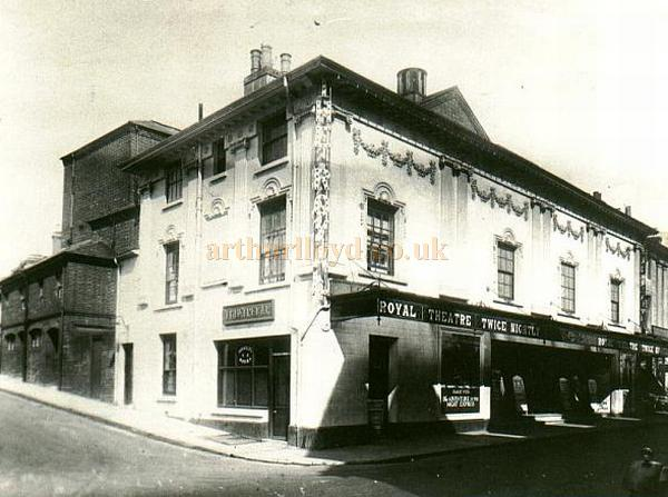 The Theatre Royal, Winchester, Circa 1920s - Courtesy Alan Chudley