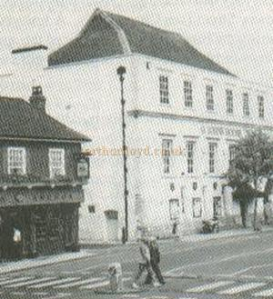 St. John's House, Winchester, this building was later to become the Palace Theatre - Courtesy Alan Chudley.
