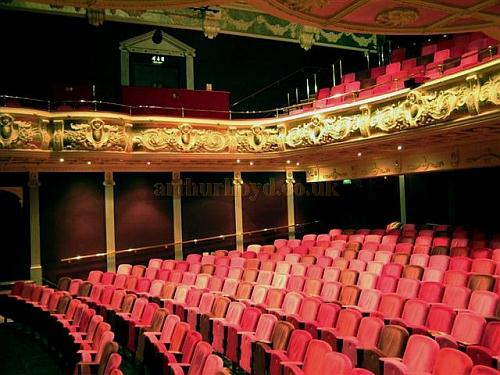 The auditorium of the Theatre Royal, Winchester in 2010 - Courtesy KR.