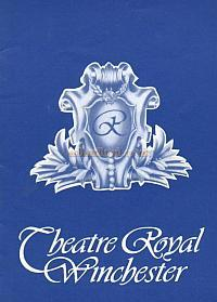 Programme for 'Showtime' at the Theatre Royal, Winchester in 1979.