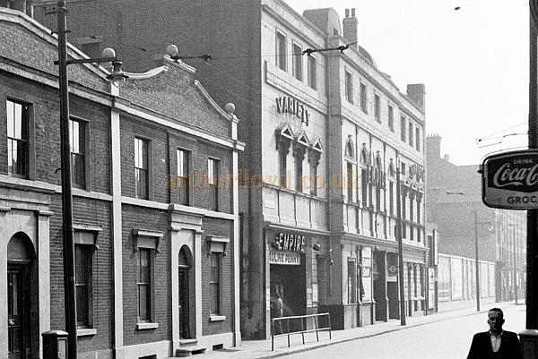 Real Photograph of the Woolwich Empire Theatre in the mid 1950s - Courtesy John Earl. - Click for more information on the Woolwich Empire