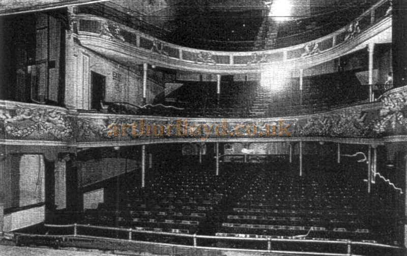 The Auditorium of the Theatre Royal, Worcester - Courtesy Roy Cross