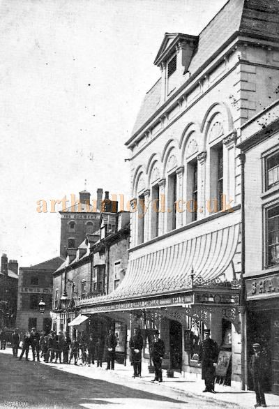 A postcard showing the Rebuilt Theatre Royal, Worcester of 1903 - Courtesy Sarah Wyatt.