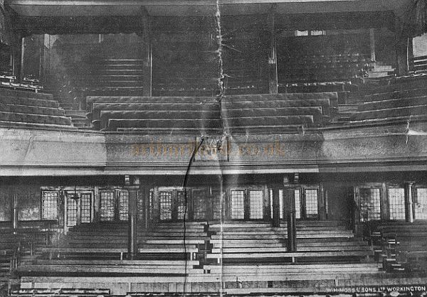 The auditorium of the original Queen's Jubilee Hall and Opera House - Courtesy Andrew Williamson.