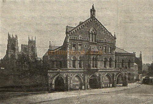 The Theatre Royal, York - From a Programme for 'Tilly of Bloomsbury' at the Theatre in 1926